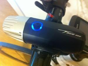 Serfas True 500 LED bike headlight light