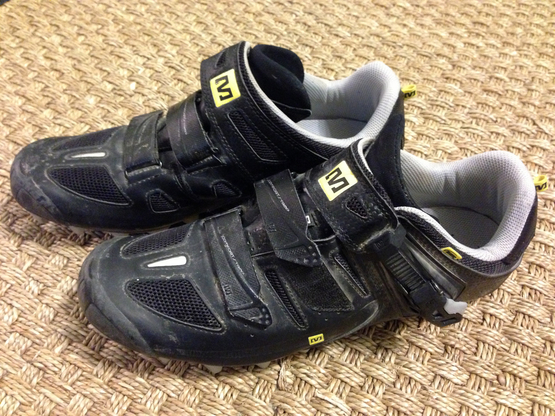 Mavic Rush cross country mountain biking shoes review