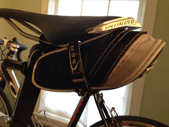 Serfas RD2 medium bike saddle bag review