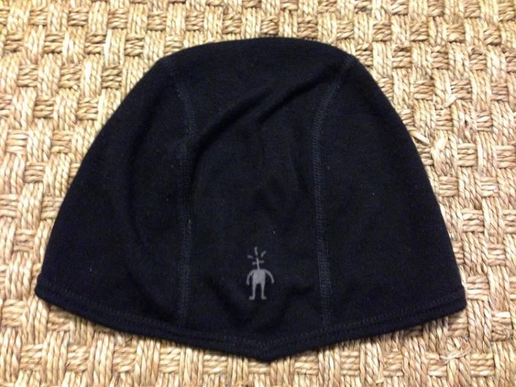 Smartwool headliner wool cycling hat under helmet