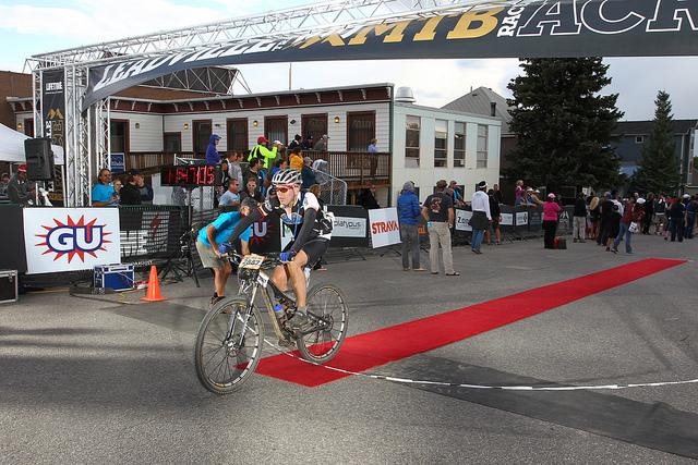 Leadville finish line