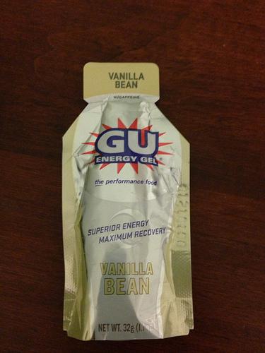 Vanilla Gu energy gel