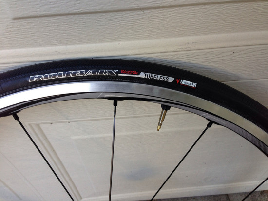 specialized roubaix road tubeless tires inflated